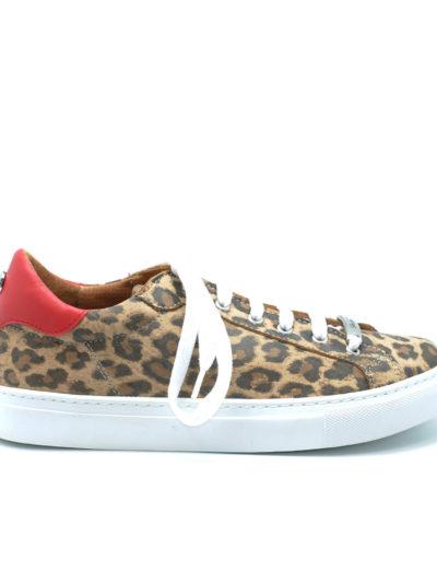 Zapatillas Leopardo SHEFLY Rojas