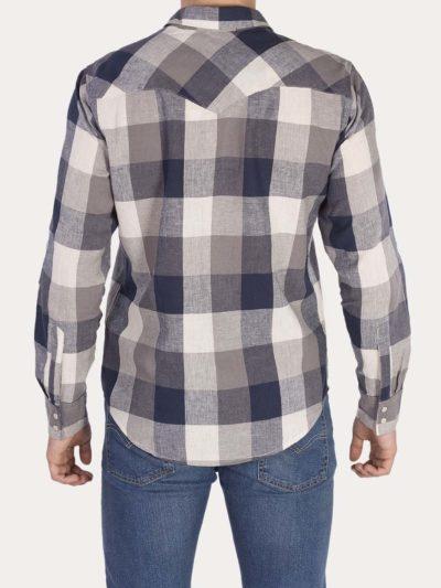 Camisa LEVIS Barstow Western Mallard
