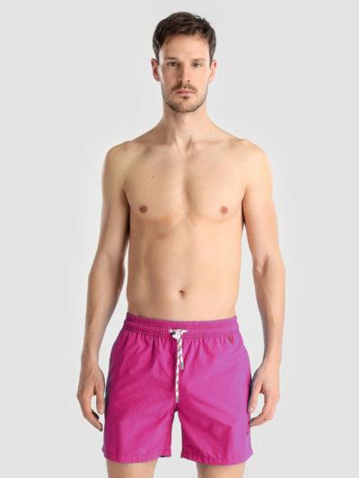 bañador meyba naval liso rosa fucsia