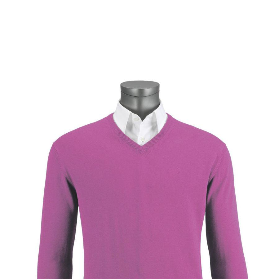 jersey florentino rosa cuello pico
