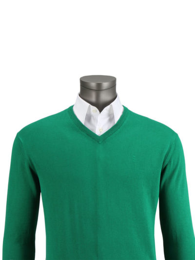jersey florentino verde cuello pico regular fit