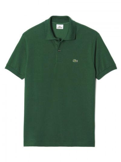 Polo Lacoste l1212 verde musgo